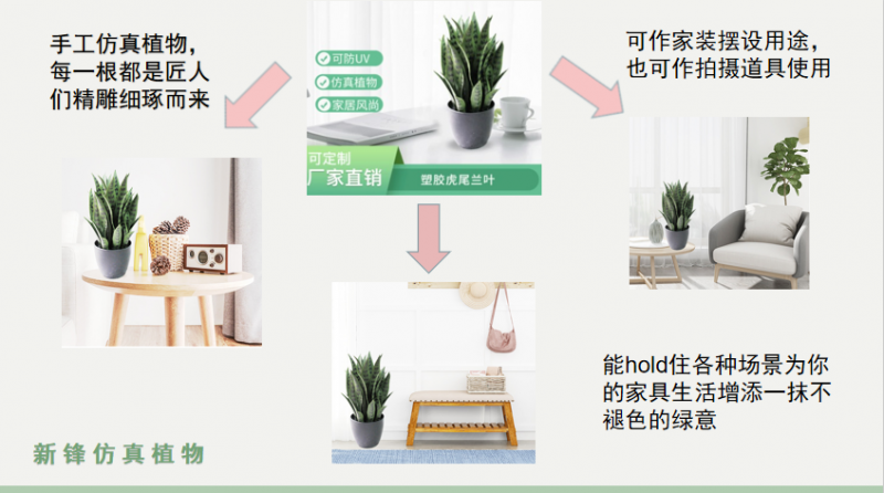 What are the advantages of buying artificial plants?